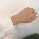 小眾設計感ins冷淡風手鏈韓國氣質簡約百搭高級感幾何圓環手飾女