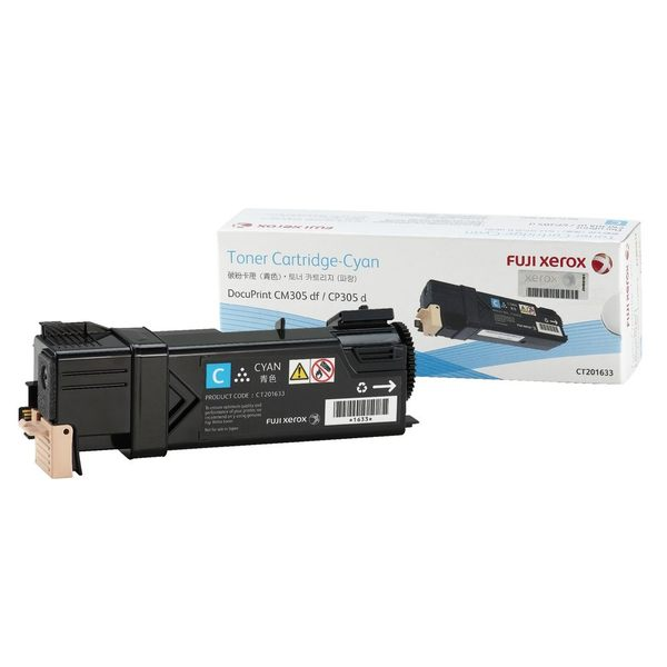 富士全錄 Fuji Xerox CT201633 201634 201635 原廠藍/紅/黃色碳粉匣(適用CM305 df / CP305 d)