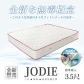 經濟型環保無毒系列- JODIE喬蒂無毒舒眠獨立筒床墊-單人3.5x6.2尺(20cm) - H&D DESIGN