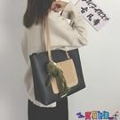 子母包 包包女包2021新款時尚大容量韓版托特包手提包女側背包百搭子母包寶貝計畫 上新