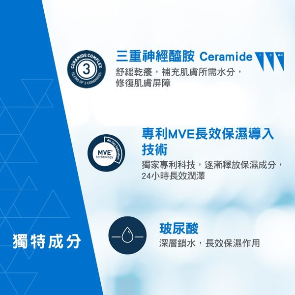 CeraVe 輕柔潔膚露473ml+修護霜340g 大容量限定組