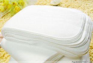 環保尿布 加大可洗式 毛巾布尿墊(1片入) RA2062 好娃娃
