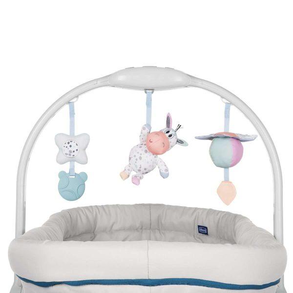 chicco-Baby Hug多功能成長安撫嬰兒床-音樂鈴(含玩具)
