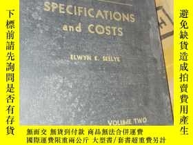 二手書博民逛書店Specification罕見and CostsY22727 ELWYN E. SEELYE WAIWEN