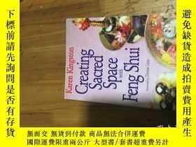 二手書博民逛書店Creating罕見sacred space with feng shuiY16129
