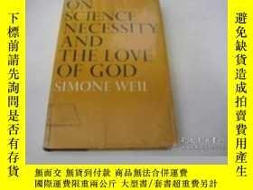二手書博民逛書店On罕見Science, Necessity And The Love Of GodY256260 Simon