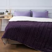 HOLA 弗拉瓦長羔絨毯 奢華紫色款
