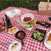 野餐墊便攜防水春游防潮墊戶外野餐布郊游草坪YYS麥吉良品