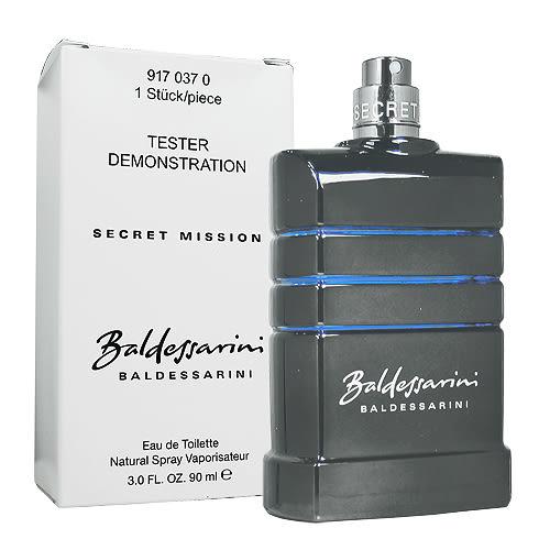 【Baldessarini】秘密任務 Secret Mission 男香 90ML TESTER-環保盒無蓋