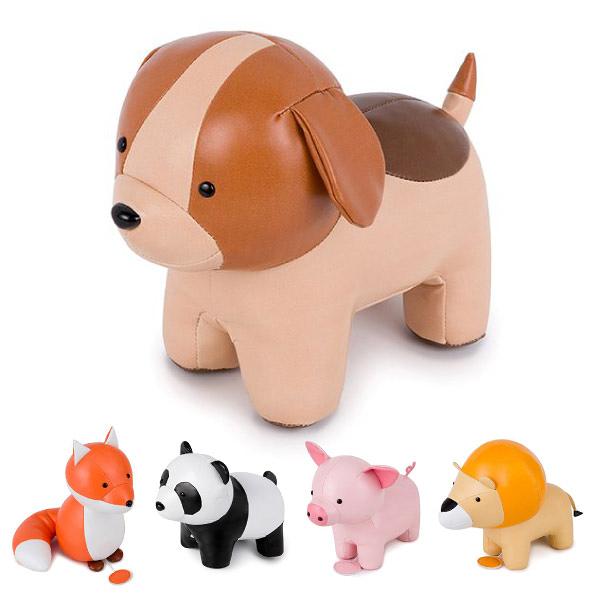 法國 Little big friends 動物造型皮質音樂玩偶(11款可選)音樂鈴