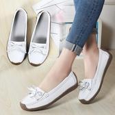 單鞋豆豆鞋女