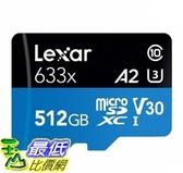 [COSCO代購] W127163 Lexar 512GB Micro SD 記憶卡 633x