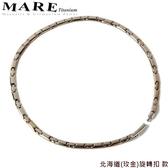 【MARE-純鈦項鍊】系列:北海道(玫金)旋轉扣 款