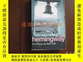 二手書博民逛書店ernest罕見Hemingway For Whom the B