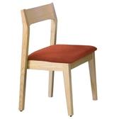 布蘭妮栓木橘色布餐椅(18JF/483-6)/H&D東稻家居