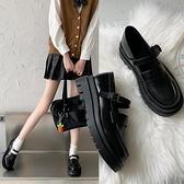 小皮鞋日系女jk2021新款百搭單鞋復古夏季薄款制服增高春秋瑪麗珍 青木鋪子