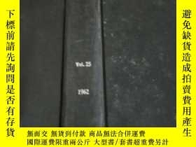 二手書博民逛書店chemical罕見products vol.25 1962(化