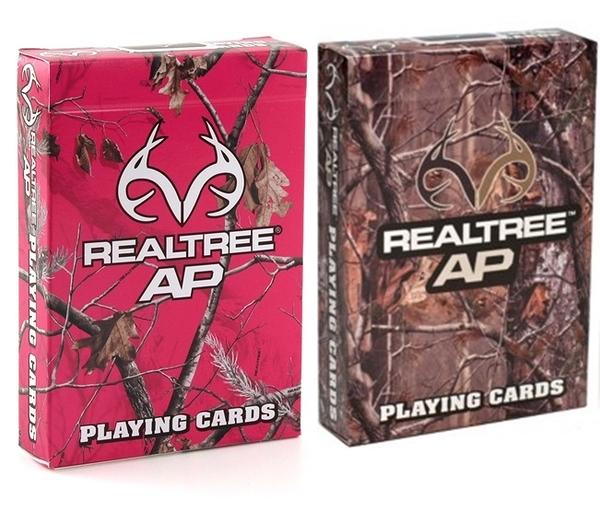 【USPCC 撲克】Realtree Camouflage deck樹木背紋