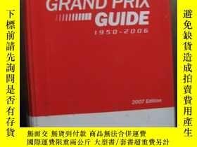 二手書博民逛書店GRAND罕見PRIX GUIDEY10980 GRAND PRIX GUIDE GRAND PRIX GUI