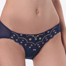 LADY 舞夜巴黎系列 低腰三角褲(舞夜藍)