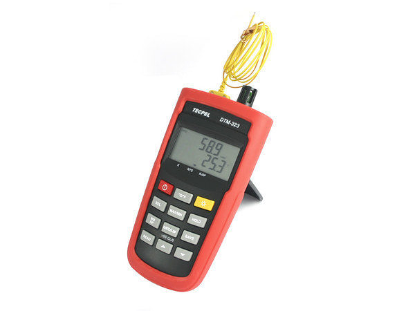 泰菱電子◆高精密度溫濕度計/溫溼度計(濕球.乾球.露點)DTM-323 TECPEL