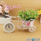 假花 模擬花車套裝 家居飾品擺件塑膠花藝 裝飾花假花客廳擺放花卉絹花 聖誕節狂歡