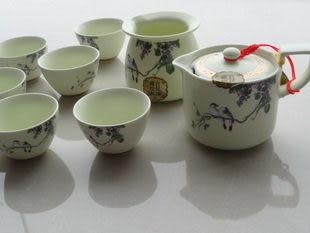 瓷工坊/陶瓷/概念壺8入套組茶具