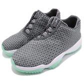 Nike Air Jordan Future Low 灰 綠 織布鞋面 XI 喬丹11代中底設計 男鞋【PUMP306】 718948-006