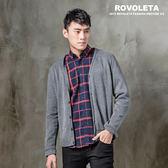 素色紳士罩衫外套~CG19 M10 ~ROVOLETA
