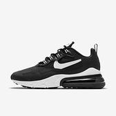 Nike Air Max 270 React [DJ0032-011] 男鞋 運動 休閒 慢跑 籃球 緩震 穿搭 黑 白
