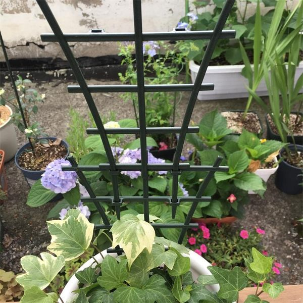 小型植物爬藤架花支架旱金蓮可組裝加高花架【步行者戶外生活館】