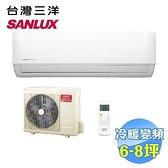 台灣三洋 SANLUX 時尚型冷暖變頻一對一分離式冷氣 SAC-V50HF / SAE-V50HF