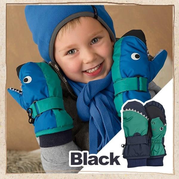 恐龍造型保暖手套-黑 STERNTALER C-4321503-300