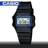 CASIO手錶專賣店 卡西歐  F-105W-1A  男錶 電子錶 學生 數字 EL冷光照明 生活防水 塑膠錶帶