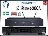 『門市有現貨』英國 Audiolab 6000A 綜合擴大機 + 瑞典 Primare SC15 Prisma 串流播放機 - 公司貨