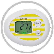 DRETEC巧克力紅外線温度計麵包發酵溫度計乾淨衛生O-603WT熱門通販屋