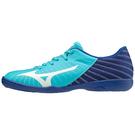 MIZUNO 室內足球鞋 REBULA SALA CLUB IN系列 湖藍 Q1GA202323 20SSO 【樂買網】