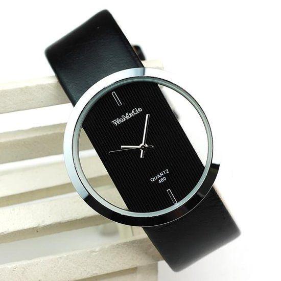 韓款時尚透明手錶(3色)  情人節禮物【Vogues唯格思】C063