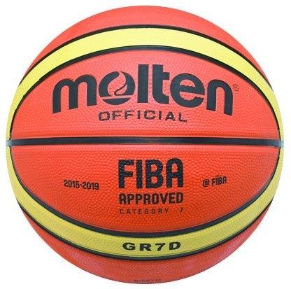 【iSport愛運動】MOLTEN FIBA國際籃總 奧運 洲際盃 指定品牌 七號籃球 正貨新品公司 BGR7D