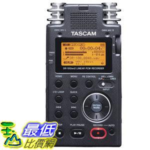 [103 美國直購] TASCAM DR-100mkII 2-Channel 數字錄音機 Portable Digital Recorder