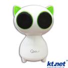 【鼎立資訊】KTNET 大眼貓 低音 多媒體 喇叭 防震動止滑墊 寬音域喇叭多功能 (廣)