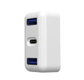 APPLE iPad Pro 平板30W充電頭電源擴充轉接器 type-c USB HUB 附矽膠保護套 PD充電資料傳輸