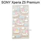 雙子星透明軟殼 [繽紛] SONY Xperia Z5 Premium E6853【三麗鷗正版授權】