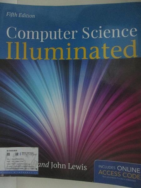 【書寶二手書T3/大學理工醫_DSJ】Computer Science Illuminated_Dale, Nell