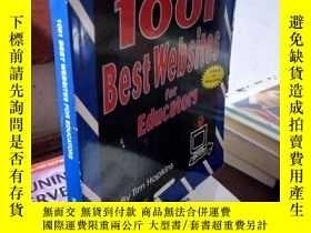 二手書博民逛書店1001罕見Best Websites for Educator