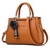 手提包 包潮大容量包包OL通勤定型時尚包斜挎單肩手提包