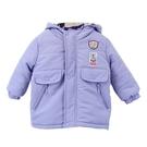 【愛的世界】防風搖粒絨長袖連帽外套/6歲-中國製- ---秋冬外套