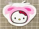【震撼精品百貨】Hello Kitty 凱蒂貓~三麗鷗 凱蒂貓造型圍兜兜-粉裝扮#20684