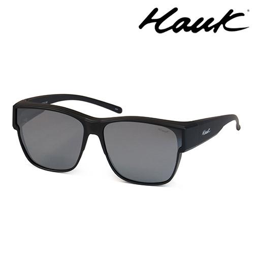 HAWK 新型薄框偏光太陽眼鏡套鏡(2用)HK1027A-02-1