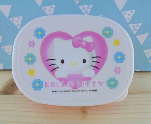 【震撼精品百貨】Hello Kitty 凱蒂貓~KITTY空盒-粉花圖案